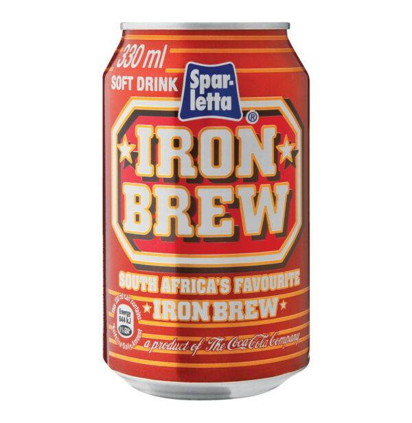 Sparletta Iron Brew in the UK - CapeScot provides South African products for ex-pats in Scotland & the UK