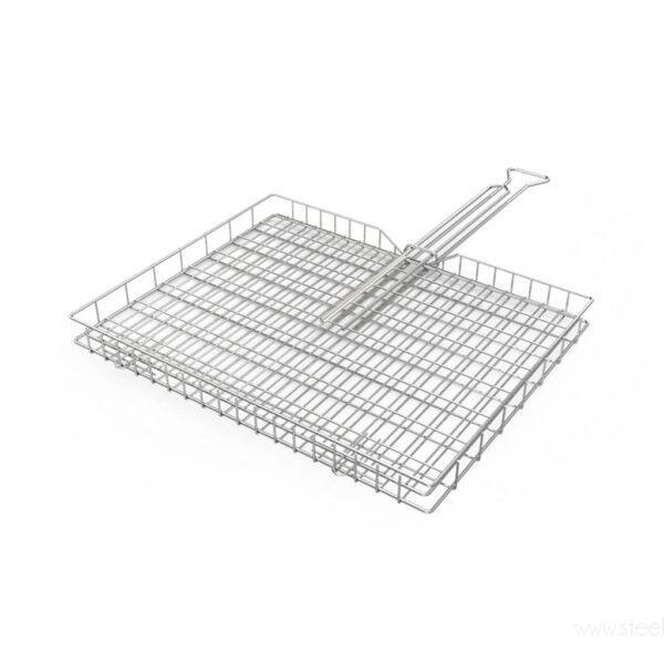 Stainless Steel Braai Standard Adjustable Grid - CapeScot provides South African products for ex-pats in Scotland & the UK