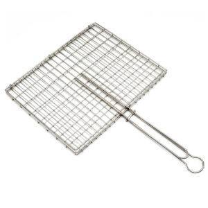Stainless Steel Braai Standard Hinge Grid - CapeScot provides South African products for ex-pats in Scotland & the UK