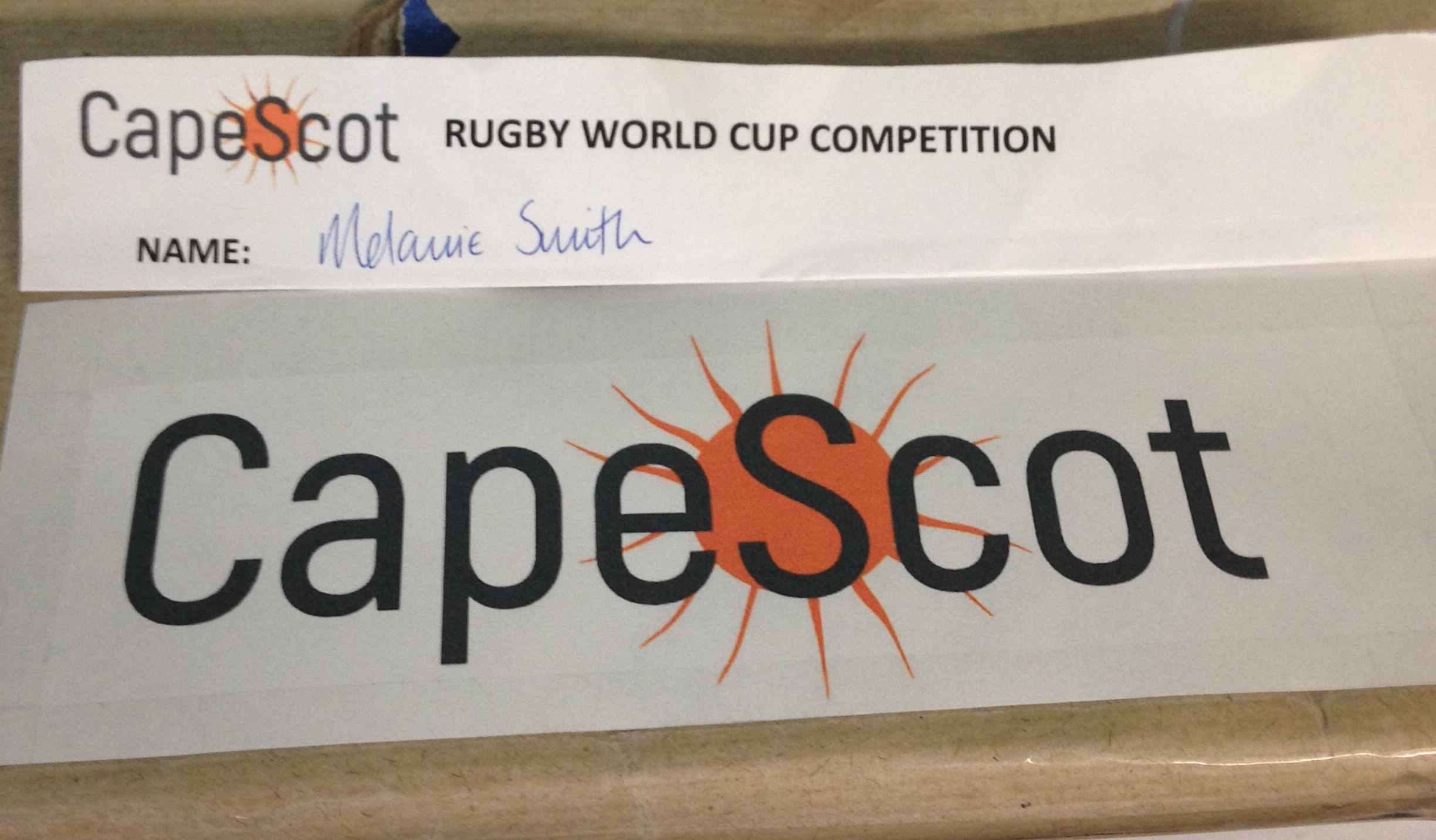 Rugby World Cup Competition Winner