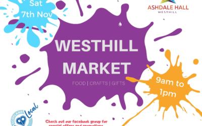 Westhill Market 7th November
