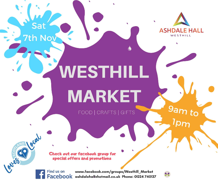 Westhill Market 7th November