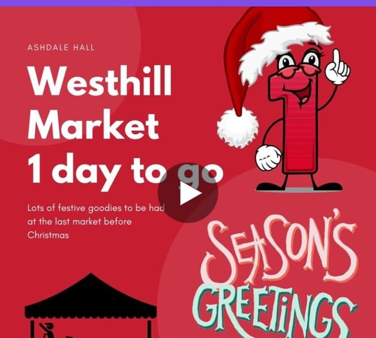Westhill Market 5th December