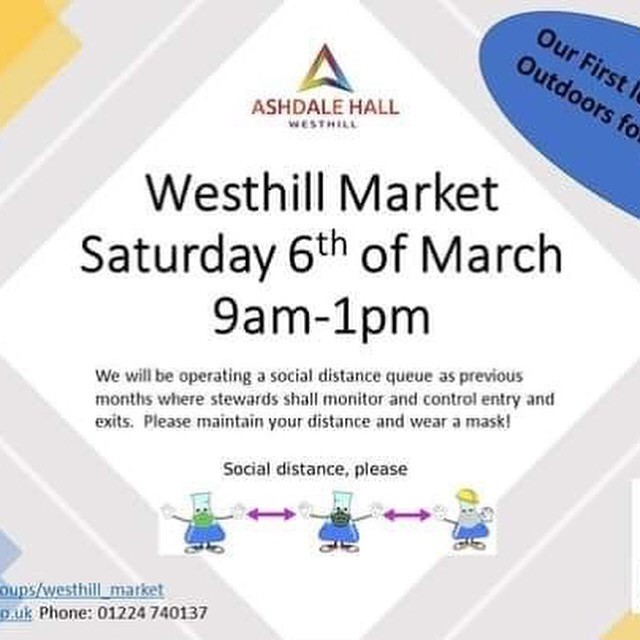 Westhill Market 6th March 2021