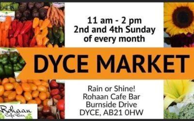 Dyce Market Sunday 24th October 2021
